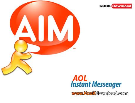 دانلود AOL Instant Messenger (AIM) v7.5 گفت و گو با اکانت های مختلف با مسنجر