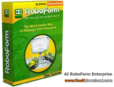 نرم افزار پرکردن فرم های عضویت در سایت ها AI RoboForm Enterprise 7.4.2 Final