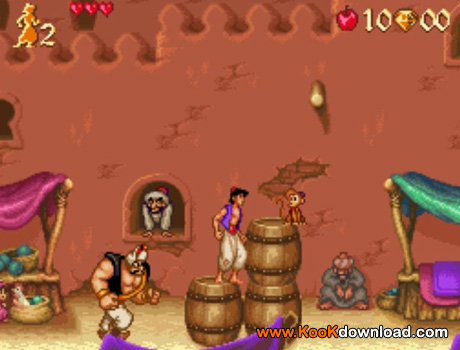 دانلود بازی سگا علاالدین Aladdin
