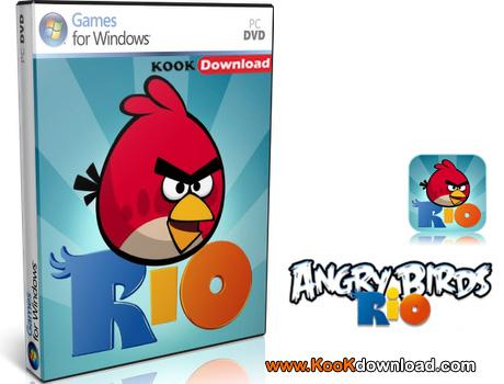 دانلود نسخه جدید بازی کامپیوتری Angry Birds Rio 1.4.0