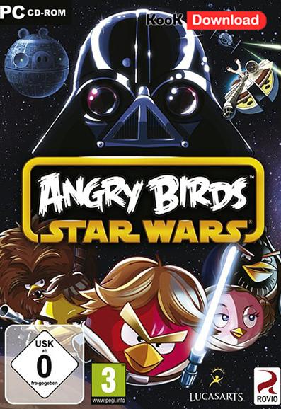 بازی محبوب پرندگان خشمگین نسخه جدید  Angry Birds Star Wars 1.1.0