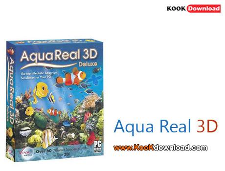 دانلود اسکرین سیوری سه بعدی Aqua Real 3D v4.1.100