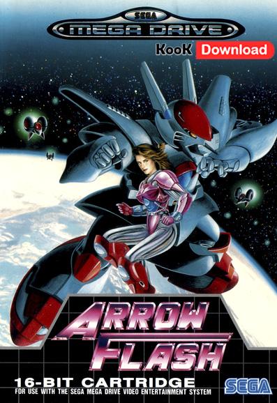 دانلود بازی فضایی سگا Arrow Flash برای Pc