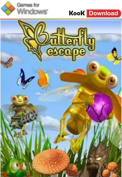 دانلود بازی سرگرم کننده Butterfly Escape 1.0.4.2