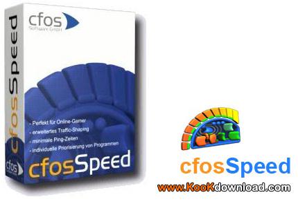 برنامه افزایش و بهینه سازی سرعت اینترنت با نرم افزار CFosSpeed v5.00.1560 Final