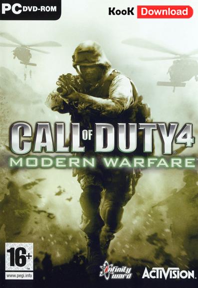 دانلود بازی Call of Duty 4 Modern Warfare با دوبله فارسی