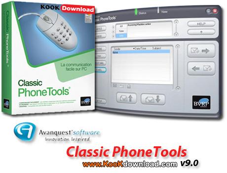 نرم افزار تبدیل کامپیوتر به تلفن Classic PhoneTools v9.0