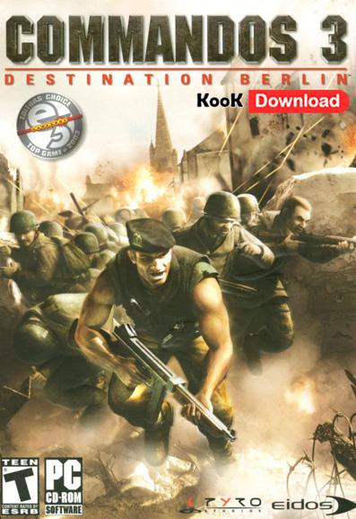دانلود Commandos 3 – Destination Berlin نسخه فارسی