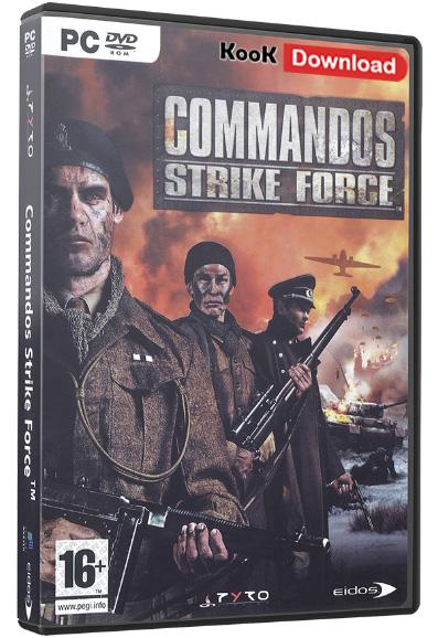دانلود بازی Commandos – Strike Force