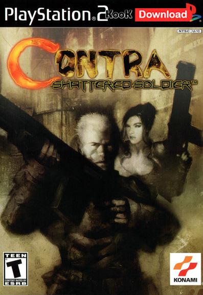 دانلود بازی Contra Shattered Soldier برای Playstation2