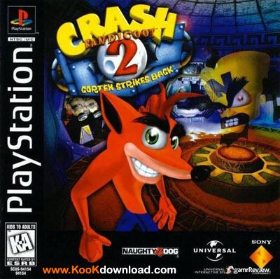 دانلود بازی کراش پیاده Crash Bandicoot 2