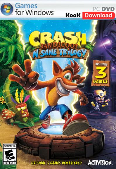 دانلود بازی Crash Bandicoot N Sane Trilogy برای کامپیوتر