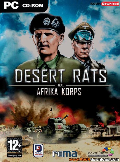 دانلود بازی استراتژی Desert Rats vs Afrika Korps
