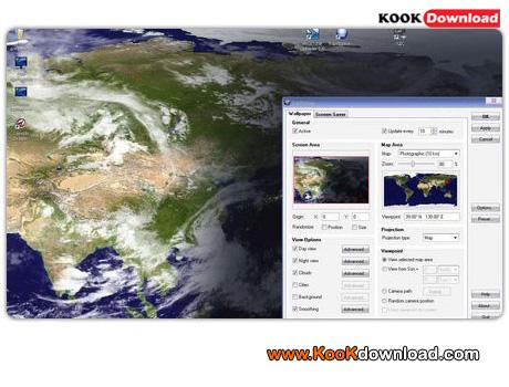 دانلود اسکین سیور DeskSoft EarthView 3.13.3