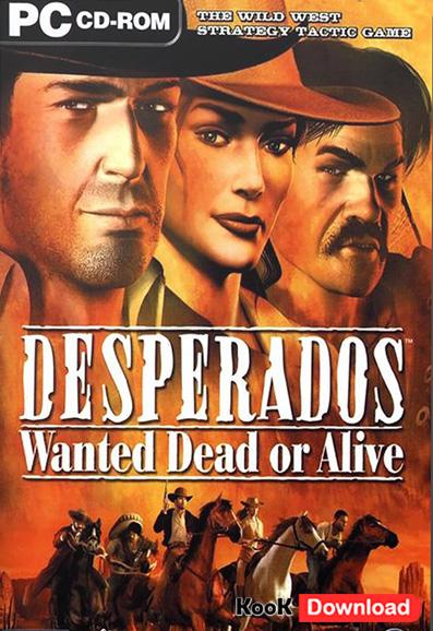 دانلود بازی استراتژیک Desperados Wanted Dead or Alive معروف به بازی دسپیرادو