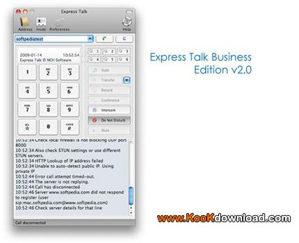 تبدیل کامپیوتر به تلفن حرفه ای Express Talk Business Edition v2.0