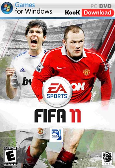 دانلود بازی FIFA 11 برای کامپیوتر و بازی صورت آنلاین