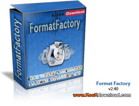 دانلود نرم افزار FormatFactory 2.60