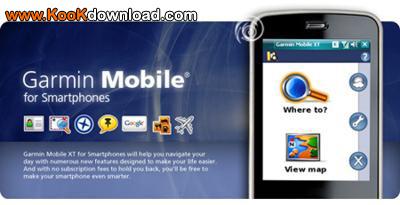 دانلود نرم افزار Garmin Mobile – XT 5.00.60