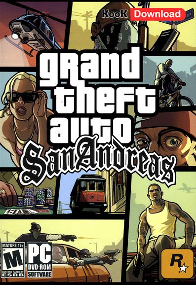 دانلود بازی آنلاین Grand Theft Auto San Andreas برای Pc