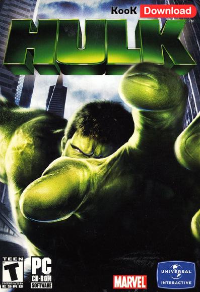 دانلود بازی Hulk 2003 برای کامپیوتر دوبله فارسی