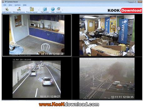 دانلود نرم افزار تبدیل وبکم به دوربین مخفی با IP Camera Viewer 1.14