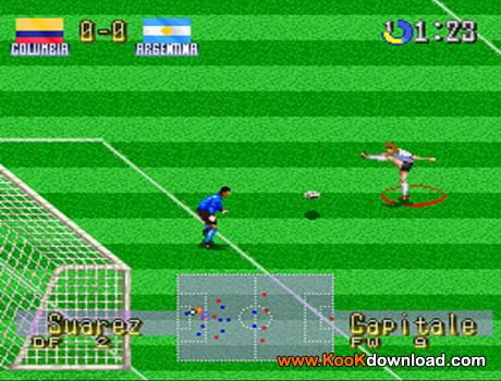 دانلود بازی فوتبال نینتندو International Superstar Soccer Deluxe
