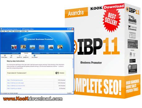 نرم افزار معرفی سایت به موتورهای جستجو Internet Business Promoter 11.6