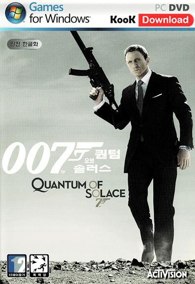دانلود بازی James Bond 007 Quantum of Solace برای کامپیوتر