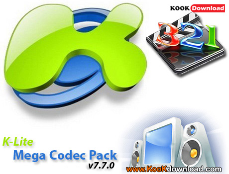 لینک مستقیم دانلود نرم افزار K-Lite Mega Codec Pack v7.7.0 Final