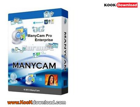 نرم افزار ایجاد وبکم مجازی فان ManyCam 2.6.43