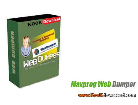 دانلود نرم افزار ذخیره کامل سایت ها در کامپیوتر Maxprog Web Dumper 3.3.2