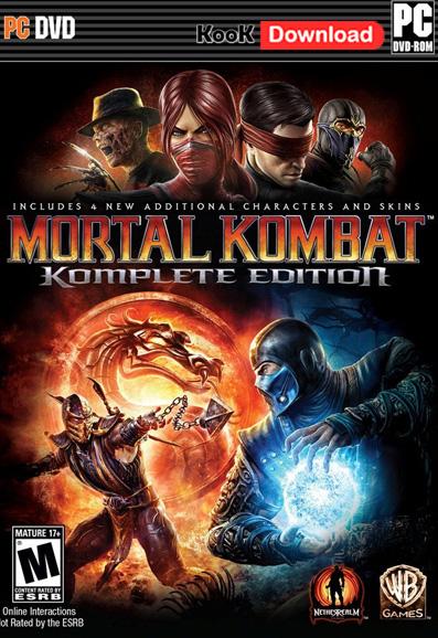 دانلود بازی Mortal Kombat-Komplete Edition برای کامپیوتر