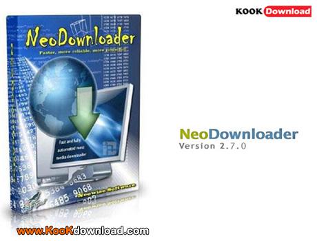 دانلود نرم افزار مدیریت و افزایش سرعت دانلود NeoDownloader v2.7.0.148