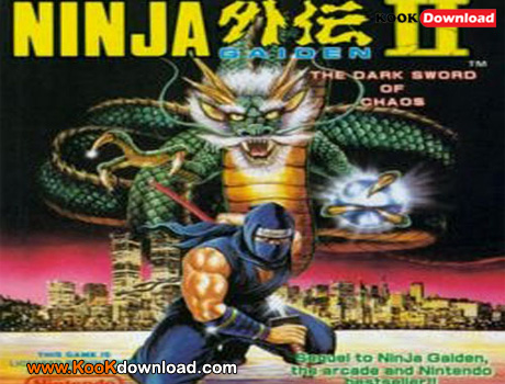 بازی میکرو نینجا Ninja Gaiden 2 – The Dark Sword of Chaos