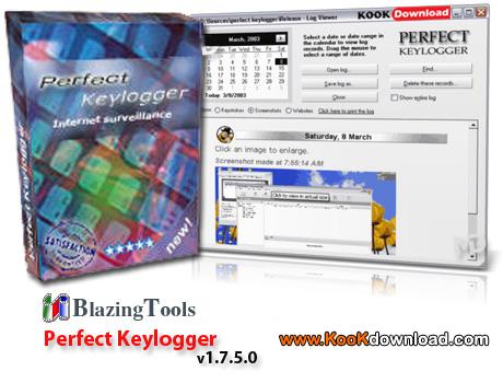 دانلود ابزاری قدرتمند برای جاسوسی BlazingTools Perfect Keylogger.1.96