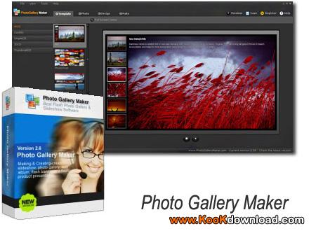 ساخت اسلایدشو ها با نرم افزار Photo Gallery Maker v2.82