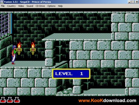دانلود بازی سگا شاهزاده ایرانی Prince Of Persia
