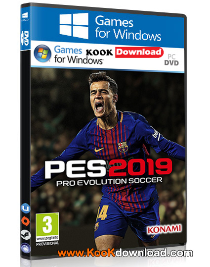 دانلود بازی Pro Evolution Soccer 2019 برای Pc – نسخه CPY