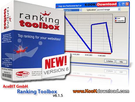 دانلود نرم افزار بالا بردن رتبه سایت شما در موتورهای جستجو گر Ranking Toolbox 6.1.5
