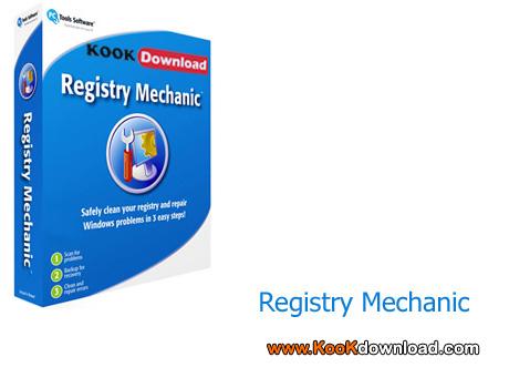 دانلود قدرتمندترین نرم افزار تعمیر رجیستری با Registry Mechanic 8.0.0.900