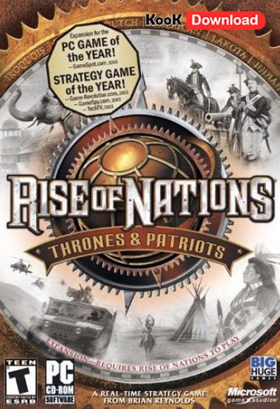 دانلود بازی Rise of Nations Thrones & Patriots دوبله فارسی