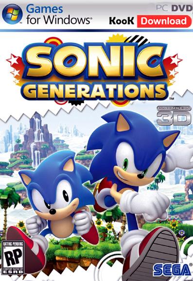 دانلود بازی Sonic Generations سونیک برای کامپیوتر