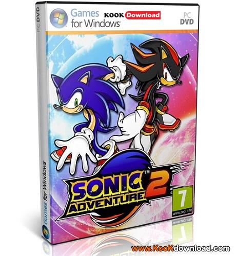 بازی کامپیوتر ۳ بعدی سونیک قهرمان Sonic Heroes