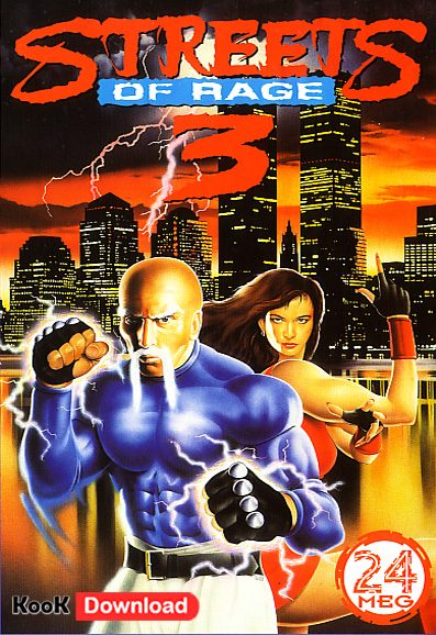 دانلود بازی سگا شورش در شهر ۳ – Streets of Rage 3