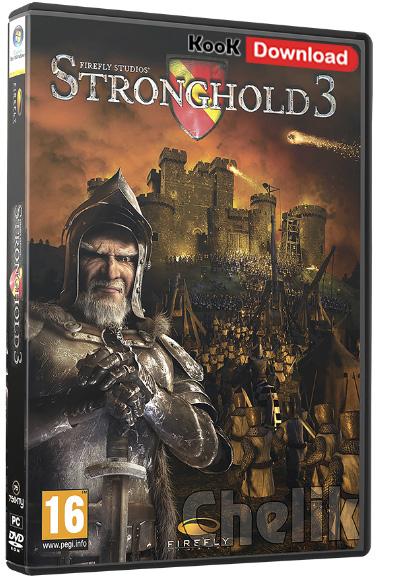 دانلود بازی استراتژیک جنگ های صلیبی Stronghold 3