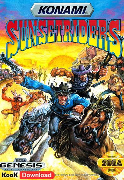 دانلود بازی سگا کابوی Sunset Riders