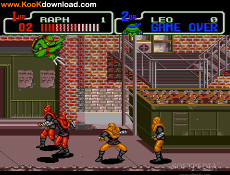 دانلود بازی لاک پشت های نینجا Teenage Mutant Hero Turtles