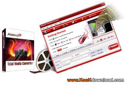دانلود برنامه مبدل فایلهای رسانه Aiseesoft Total Media Converter 9.2.26  مبدل مالتیمدیا