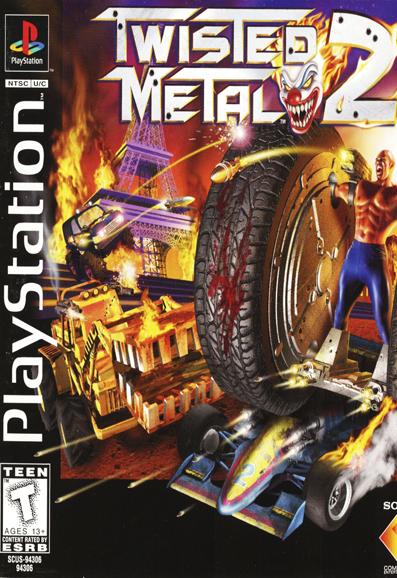 دانلود بازی پلی استیشن Twisted Metal 2 برای Pc
